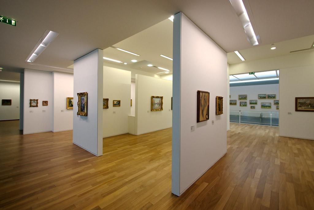 Exposition permanente du musée d'art moderne André-Malraux, boulevard Clémenceau au Havre